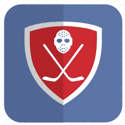 application, game, hockey, play, safety icon