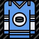 hockey, player, shirt, sport, uniform icon