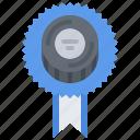 badge, hockey, pin, player, puck, sport icon