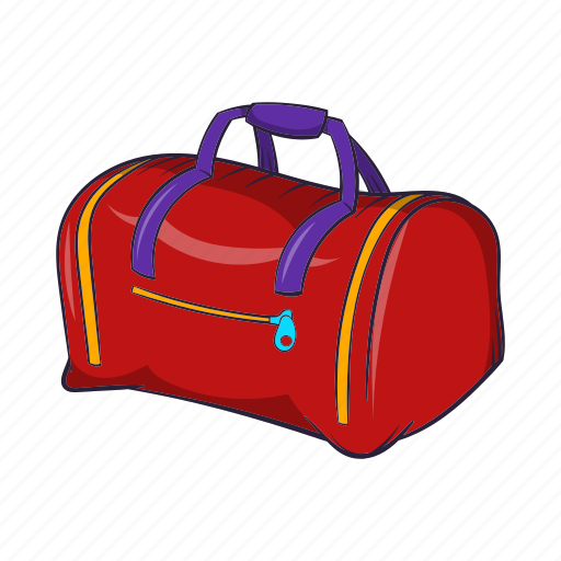 bag, baggage, cartoon, fitness, luggage, sport, travel icon