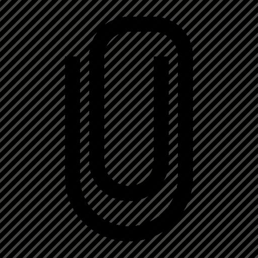 attachment, clip, paper, paperclip icon