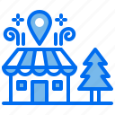 location, navigation, pin, shop, store icon