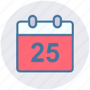 appointment, calendar, date, day, event, holiday, month icon