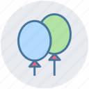 balloons, bar, birthday, calebration, christmas, holiday, party icon