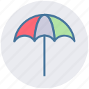 beach, beach umbrella, holiday, summer, sun umbrella, weather icon