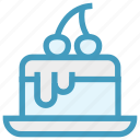 birthday, bread, cake, holiday, jaunt, picnic, summer icon