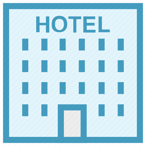 building, estate, holiday, hotel, hotel building, real icon