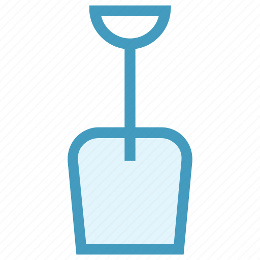 Beach, holiday, seaside, shovel, summer icon - Download on Iconfinder