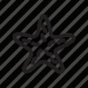 fish, sea, star, starfish