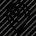 add, locate, located, location, position icon