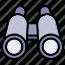 binoculars, search, find, magnifier
