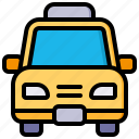 taxi, car, transport, vehicle