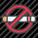 no, smoking, area, forbidden, cigarette