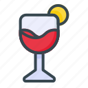juice, drink, glass