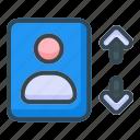sorting, people, area, avatar