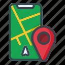 mobile, maps, navigation, phone, smartphone