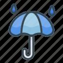 rainy, umbrella, protection