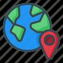world, location, map, pin, navigation, gps
