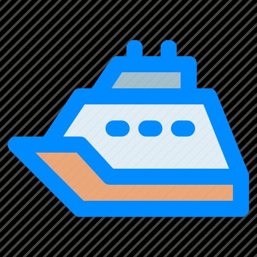 cruise, destination, holiday, ship0, travel, traveling, vacation icon