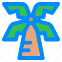 coconut0, destination, holiday, palm, travel, traveling, vacation icon