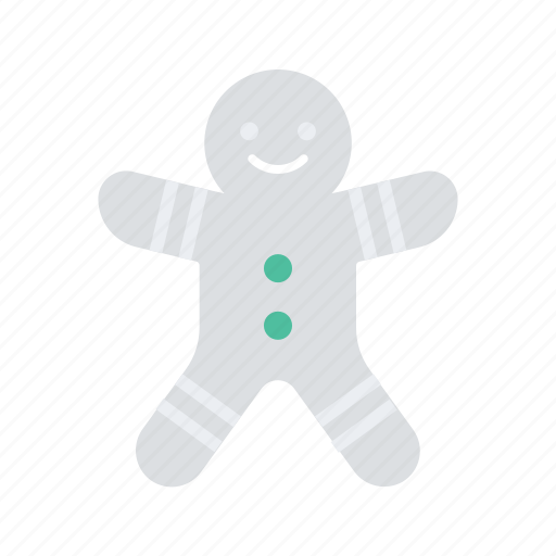christmas, cookie, gingerbread, holiday, man, occasion, vacation icon