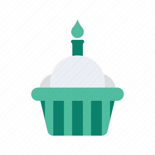 birthday, cupcake, holiday, occasion, party, vacation icon