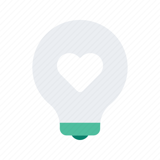 holiday, lightbulb, occasion, romance, vacation, valentine icon