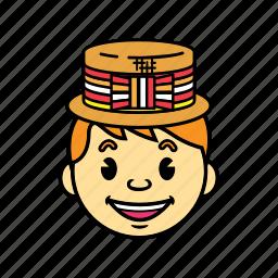 boy, holiday, kid icon