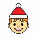 boy, holiday, kid icon