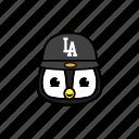 city, pinguin, snapback
