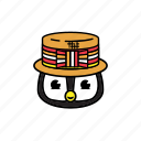 party, pinguin icon