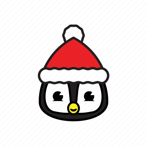 holiday, pinguin, winter icon