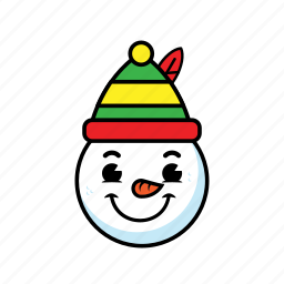 holiday, man, snow icon
