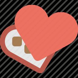 box, chocolate icon