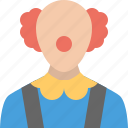clown, joker icon
