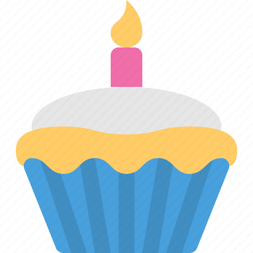 Birthday, cake, cupcake icon - Download on Iconfinder
