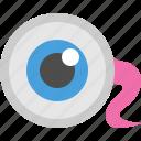 creepy, eye