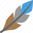 bird, feather icon