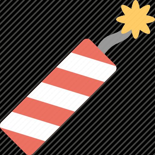 fire, firecracker icon