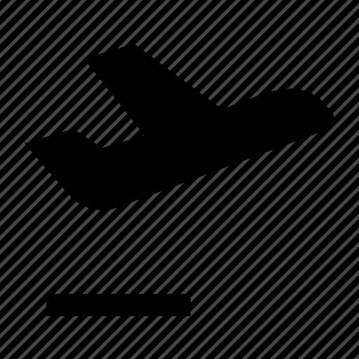 aeroplane, airbus, aircraft, airship, jet, plane, take off icon