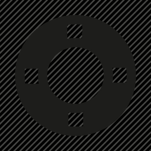 circle, exploit, lake, recovery, rescue, saving, sea icon
