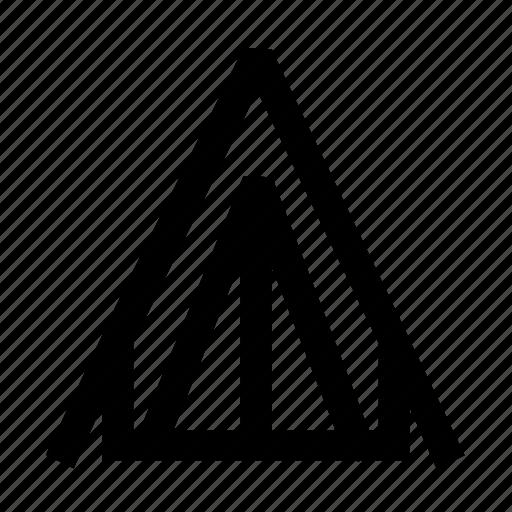 camp, canvas, pavilion, tent, trip icon