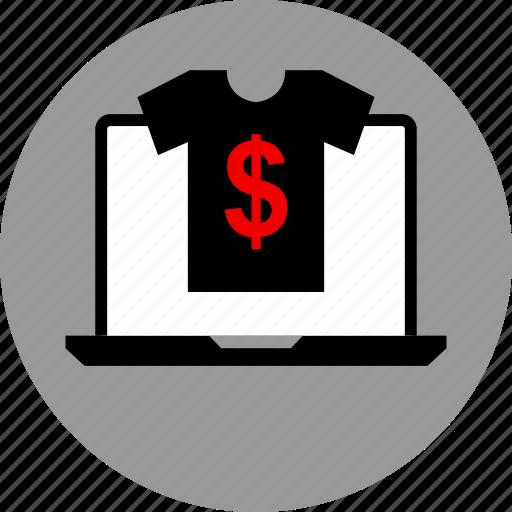 clothing, shopping, store icon