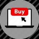 click, online, web icon