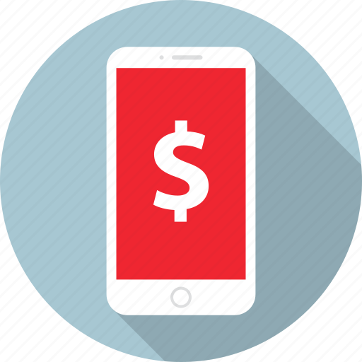 dollar, phone, sales, sell, shopping, sign icon