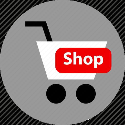 cart, ecommerce, shop icon