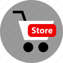 cart, ecommerce, store icon