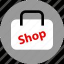 bag, goods, shop icon