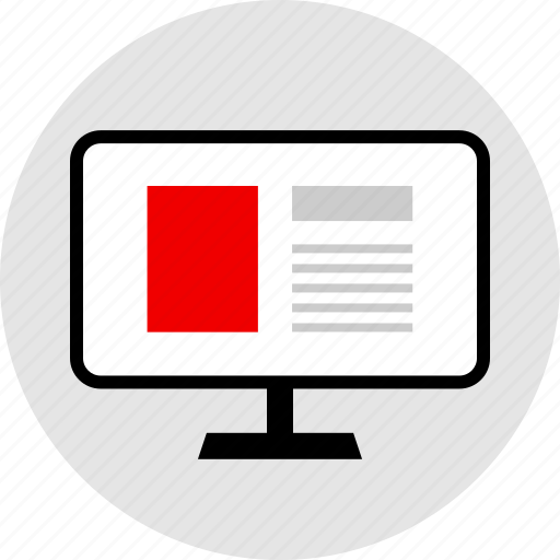 design, mockup, web, website icon