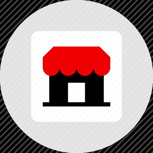 shop, small, store icon